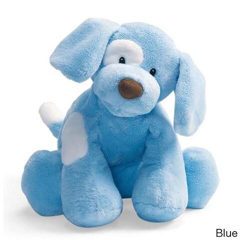 Gund Spunky Puppy 4-inch Baby Rattle