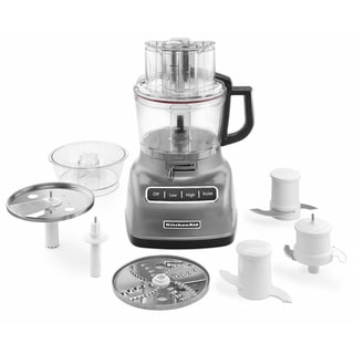 kitchenaid kfp0933cu contour silver 9cup food processor with exactslice system - Kitchenaid Food Processor