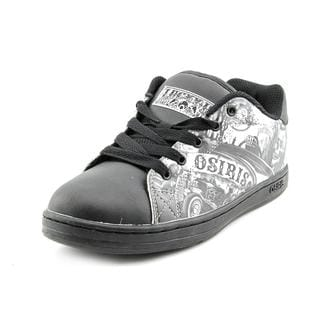 Osiris Boy (Youth) 'Cauldron' Leather Athletic Shoe