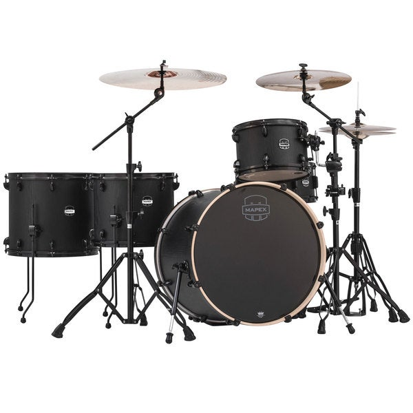 Mapex Mars Series Crossover 5-piece Zebrawood Drum Shell Pack