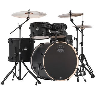 Mapex Mars Series 5-piece Zebrawood Rock Drum Shell Pack