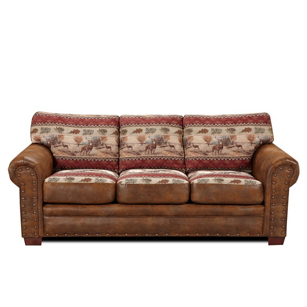 Deer Valley Lodge Sofa Free Shipping Today Overstock Com 16398069