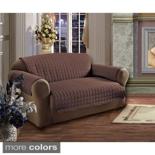 microfiber quilted stitch sofa cover