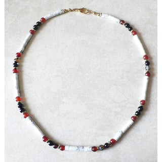 Palmtree Gems 'Annapurna' Men's Gemstone Necklace
