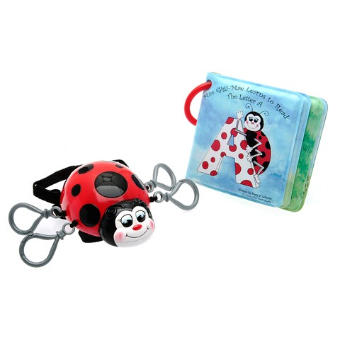 Miss Gigi-Mae Ladybug Tether System and Letter A Book