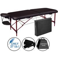 Master Massage Zephyr 28-inch Lightweight Portable Massage Table Package