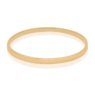 Gioelli Sterling Silver Gold Vermeil Bangle Bracelet