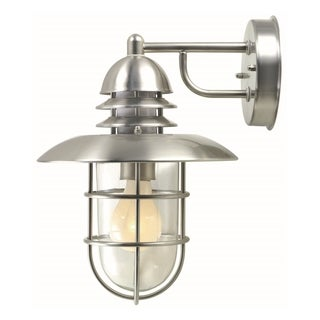 Lite Source Lamppost Single-light Outdoor Wall Sconce