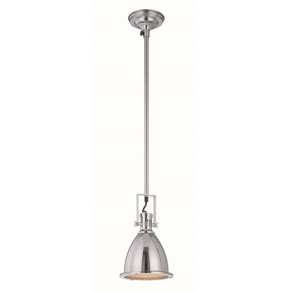 Shop Lite Source Kartik 1-light Chrome Pendant