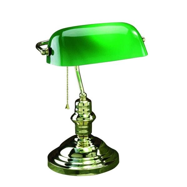 Lite Source Banker 1-Light Desk Lamp. Opens flyout.