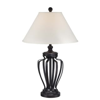 Lite Source Rigoberto Dark Bronze Metal 1-light Table Lamp