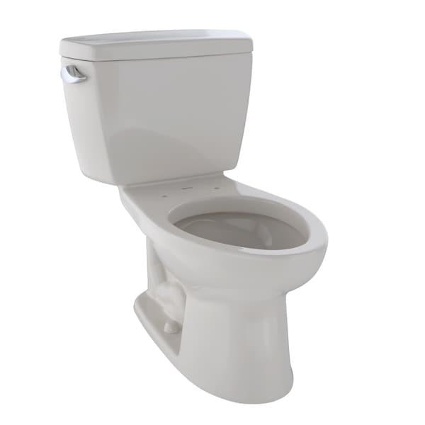 Toto Drake Two-Piece Elongated 1.6 GPF Toilet, Sedona Beige (CST744S#12)