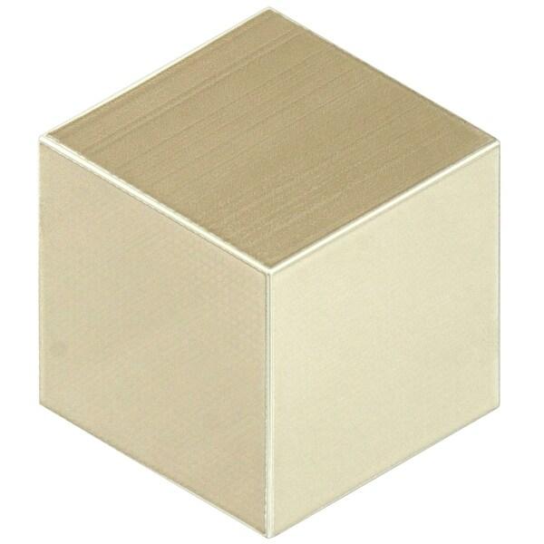 SomerTile 8.875x10.125-inch Concret Cubic Sibelius Porcelain Floor and Wall Tile (15 tiles/9.74 sqft.)