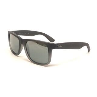 Ray-Ban Justin Wayfarer RB4165 Unisex Grey Frame Silver Gradient Lens Sunglasses|https://ak1.ostkcdn.com/images/products/9231220/P16398644.jpg?_ostk_perf_=percv&impolicy=medium