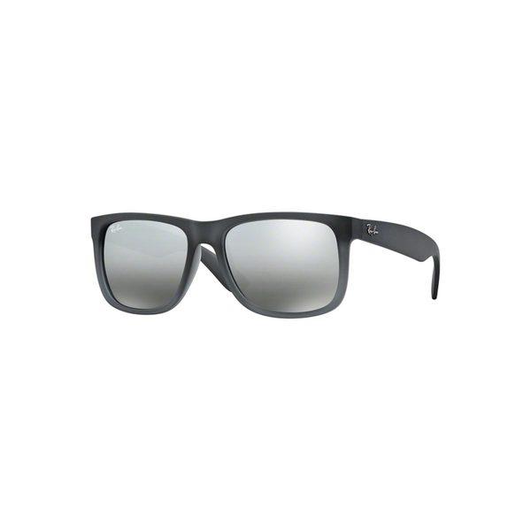 465399d1365 Ray-Ban Justin Wayfarer RB4165 Unisex Gray Frame Silver Gradient Lens  Sunglasses