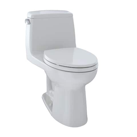 Toto UltraMax One-Piece Elongated 1.6 GPF Toilet, Colonial White (MS854114S#11)