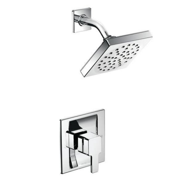 Moen 90 degree Square Shower Head Trim Set for Posi Temp Showers Only