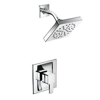 Moen 90-degree Square Shower-Head Trim Set for Posi-Temp Showers Only TS2712EP Chrome