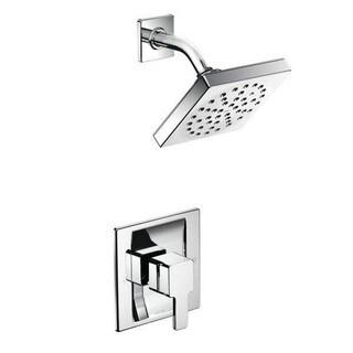 moen 90degree square showerhead trim set for positemp showers only