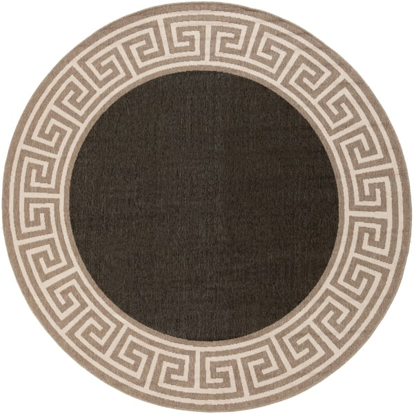 Shop Annette Contemporary Bordered Indoor Outdoor Area Rug On