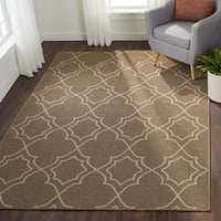 Natasha Contemporary Trellis Indoor/Outdoor Area Rug - 6' x 9'