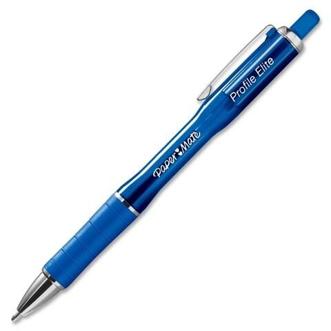 Paper Mate Profile Elite Bold Point Blue Retractable Ballpoint Pen