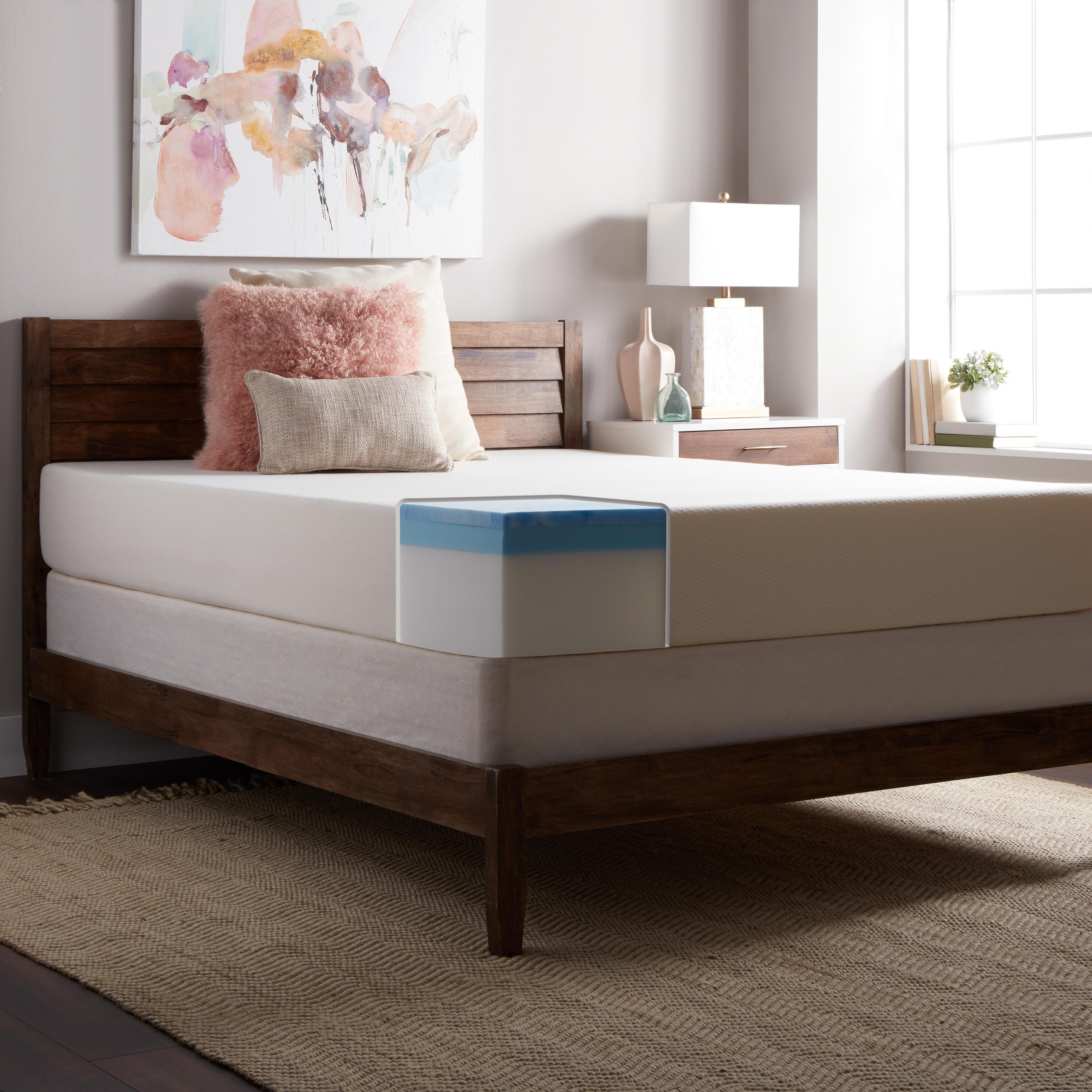 Select Luxury SL Loft Medium Firm 10-inch Queen-size Gel ...