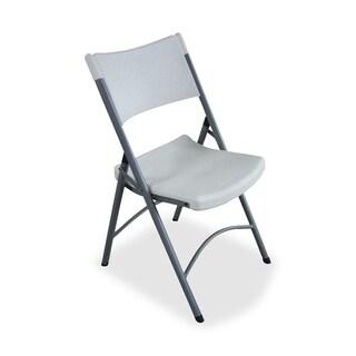Lorell Heavy-duty Tubular Folding Chairs (Pack of 4)