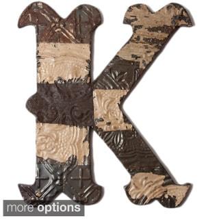 Ozark Folk Art Reclaimed Letter K