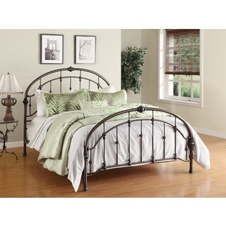 Dorel Living Queen Metal Bed