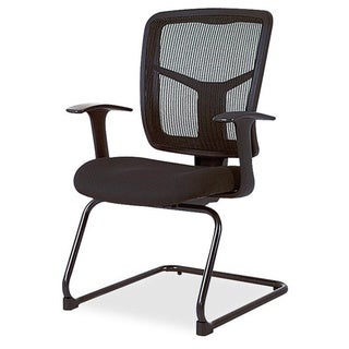Porch & Den Cedar Hill Mesh Side Arm Guest Chair