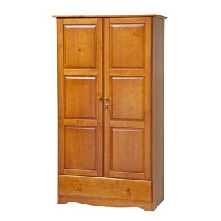 Gracewood Hollow Siddartha Universal Solid Wood Customizable Wardrobe