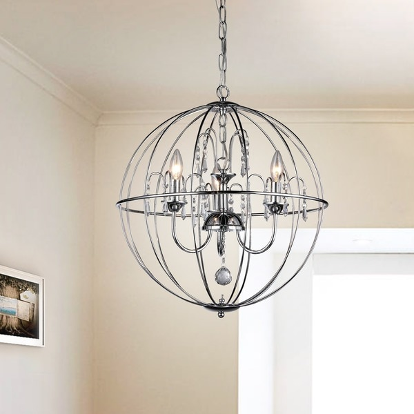 Crystal cage chandelier free shipping today overstock 16399009 crystal cage chandelier aloadofball Images