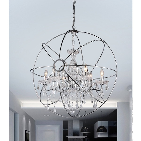Saturn 39 s ring 32 inch chandelier free shipping today for Decor 1 32