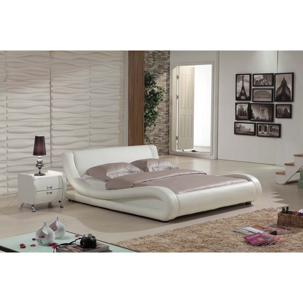 Magnificent Dona 2 Piece Ivory Modern Bed Set Complete Home Design Collection Epsylindsey Bellcom