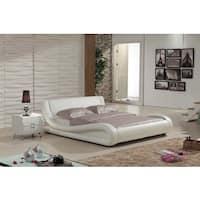 Dona 2-piece Ivory Modern Bed Set