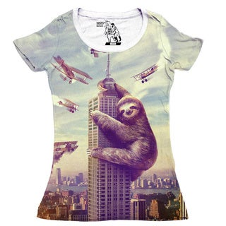 Women's Slothzilla Short Sleeve Top