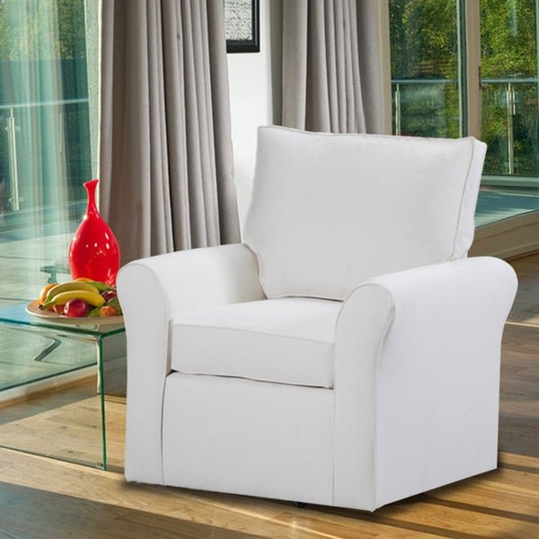 belle meade swivel arm chair - Swivel Arm Chairs Living Room