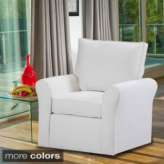 Belle Meade Swivel Arm Chair