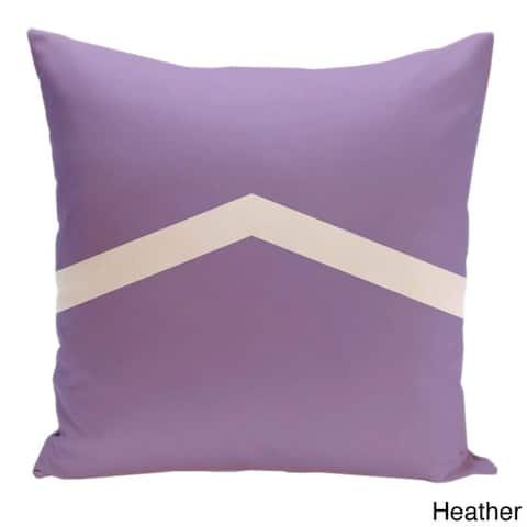 26 x 26-inch Two-tone Chevron Decorative Throw Pillow
