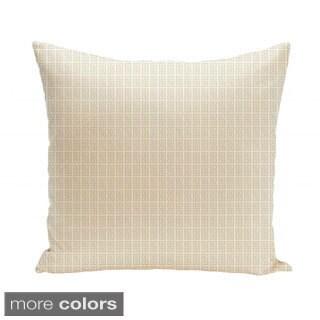 20 x 20-inch Micro Greek Key Decorative Throw Pillow