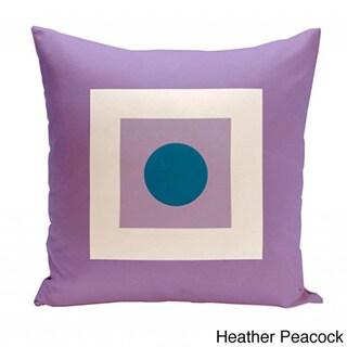26 x 26-inch Square/ Dot Print Geometric Decorative Throw Pillow