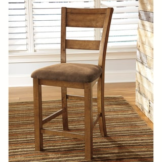 Signature Design by Ashley Upholstered Bar Stools (Set of 2)