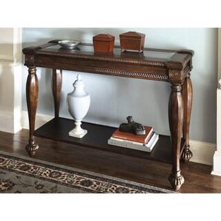 Signature Design by Ashley Mantera Vintage Sofa Table