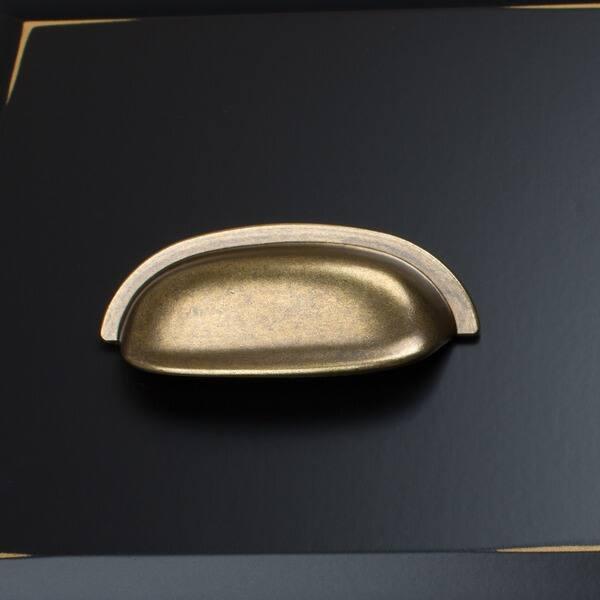 Antique Br Clic Bin Cabinet Pulls