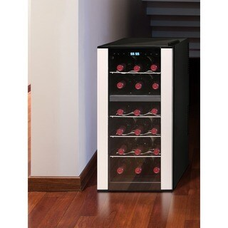 Element by Vinotemp 18-bottle Dual-zone Thermoelectric Wine Cooler