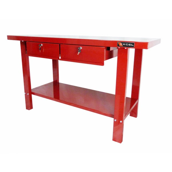 Shop Excel 59 Inch Steel Work Bench Free Shipping Today