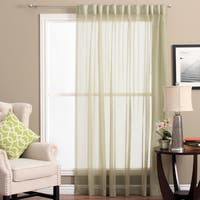 Lucerne Wanda Pleat Back Tab 104-inches x 84-inches Patio Curtain Panel