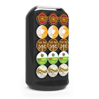 Mind Reader Black 30 Capacity Coffee Pod Carousel