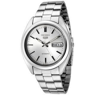 Seiko Men's SNX111K 5 Stainless Steel Automatic Watch